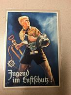 """Germany 1937-39 Post Card""""Youth Of Germany"""", RRR, 100% Original, VF-XF Condition - War 1939-45"""