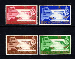 BECHUANALAND    1965    New  Constitution    Set  Of  4    MH - Bechuanaland (...-1966)