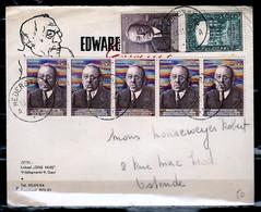 Brief Van Nederbrakel Naar Ostende - Belgique