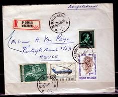 Aangetekende Brief Van St Denijs Westrem Naar Heule - Belgique