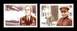 Moldova (Transnistria) 2019 No. 931/32 World War II. Heroes Of The Liberation Of Transnistria (II) MNH ** - Moldova