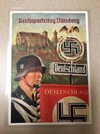 Germany 1939 Post Card Nazi Congress At Nuremberg, RRR, 100% Original, VF-XF Condition - War 1939-45