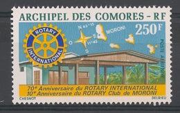 Comores - 1975 - Poste Aérienne PA N°Yv. 66 - Rotary - Neuf Luxe ** / MNH / Postfrisch - Komoren (1950-1975)