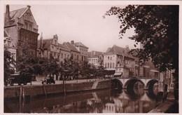 Mechelen, De Dijle, De Hoogbrug En Links 't Oud Zalmhuis Op De Zoutwerf (pk65470) - Malines