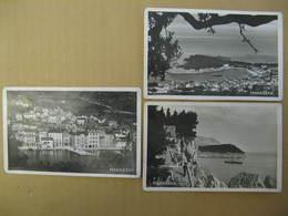 LOT DE 3 CPA 1933 MAKARSKA  NOIR ET BLANC - Croazia