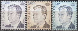 Luxembourg 2006 Michel 1720 - 1722 Neuf ** Cote (2008) 5.20 Euro Grand-Duc Henri - Ongebruikt