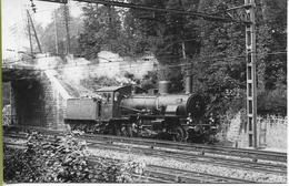 Locomotive P.O. 130-1855 Ex G5/3 Ch. De Fer PRUSSIENS-HESSOIS Rare Vue En Ligne De Cette Locomotive - Matériel