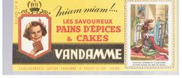 Buvard VANDAMME Buvards Images Des Rois De France N°8 Charles VII - Peperkoeken