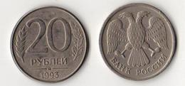 Russia 1992 20  Rubles Circulated - Russia
