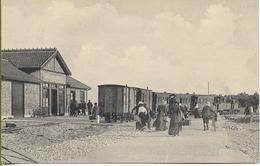 Gare De SABLANCEAUX   Train Au Départ (animation) - Ile De Ré