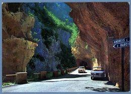 °°° Cartolina - Strada Della Val Cellina Orrido Bello Al Bivio Molassa Viaggiata °°° - Pordenone