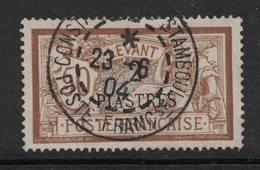 Levant  - French Office In Turkish Empire - Yvert 20 Oblitéré CONSTANTINOPLE - Scott#35 - Levant (1885-1946)