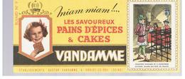 Buvard VANDAMME Buvards Images Des Rois De France N°9 Louis XI - Peperkoeken