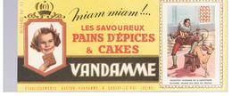Buvard VANDAMME Buvards Images Des Rois De France N°11 Henri III - Gingerbread