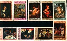 92289) MAHRA STATE (ADEN) 1967 PAINTING -QUADRI-DIPINTI-MNH** - Asia (Other)