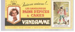 Buvard VANDAMME Buvards Images Des Rois De France N°10 François 1er - Gingerbread