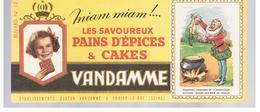 Buvard VANDAMME Buvards Images Des Rois De France N°12 HENRI IV - Peperkoeken