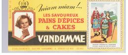 Buvard VANDAMME Buvards Images Des Rois De France N°13 LOUIS XIII - Peperkoeken