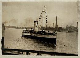 GOLDEN EAGLE  20*15CM Fonds Victor FORBIN 1864-1947 - Barche