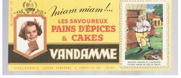 Buvard VANDAMME Buvards Images Des Rois De France N°15 LOUIS XVI - Gingerbread