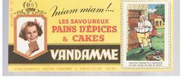 Buvard VANDAMME Buvards Images Des Rois De France N°15 LOUIS XVI - Peperkoeken