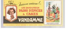 Buvard VANDAMME Buvards Images Des Rois De France N°7 Philippe Le Bel - Gingerbread