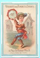 Chromo Vetements A Voltaire. Simil Liebig S. 8, Image D) Garçon Jouant Du Tambourin. - Autres