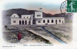 "ALGERIE.1909. PLI AVEC CONVOYEUR-LIGNE ""BISKRA-BATNA"". - Lettres & Documents"