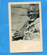Cote D'ivoire -  -carte Cie De Navigation Cyprien FABRE-années 20-un Vieillard Fumant - Côte-d'Ivoire