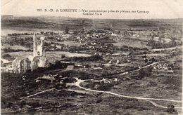 Notre-Dame-de-Lorette - Vue Panoramique Prise Du Plateau Sur Carency - France