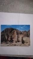 CPM ANIMEE CIRCULEE EN 1975 - TRUIMPHAL ARCH AT PETRA - Jordan