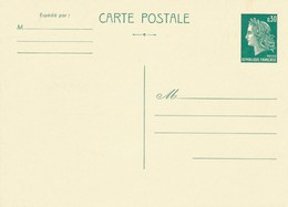 FRANCE - ENTIER POSTAL CARTE POSTALE NEUF - Biglietto Postale