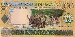 RWANDA 100 FRANCS 2003 PICK 29a UNC - Rwanda
