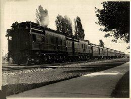 CANADIAN NATIONAL RAILWAY TRAIN TREN CHEMIN DE FER 24*18CM Fonds Victor FORBIN 1864-1947 - Trenes