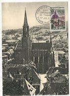 Carte Maximum 1961 - 8ème Centenaire De Thann - YT 1308 - 68 Thann - Maximum Cards