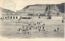 FRANCE. OLD POSTCARD MESNIL VAL. THE CASINO - Francia