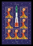 Kazakhstan 2019 Mih. 1145 Space. Yuri Gagarin (M/S) MNH ** - Kazakhstan