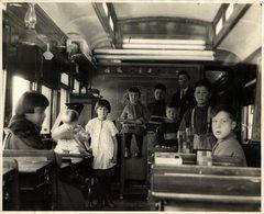 CHEMIN DE FER NATIONAL CANADA  CANADIAN NATIONAL RAILWAY TRAIN TREN CHEMIN DE FER 25*20CM Fonds Victor FORBIN 1864-1947 - Trenes