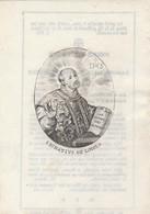 Prent Perkament-catherine Jeanne Vydt-st.nicolas 1785- 1846 - Santini