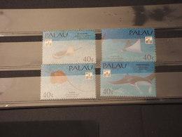 PALAU - 1994 PESCI 4 VALORI - NUOVI(++) - Palau