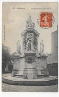 (RECTO / VERSO) AMIENS EN 1911 - N° 45 - LES ILLUSTRATIONS PICARDES - BEAU CACHET - PETITE DECHIRURE A GAUCHE - CPA - Amiens
