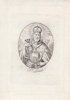 Prent Perkament-marie Francoise Vydt-st.nicolas 1773- Malines 1847 - Santini