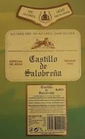 CASTILLO DE SALOBREÑA - MOSTO - VINO SIN ALCOHOL. JUEGO DE 3 ERIQUETAS. - Sin Clasificación