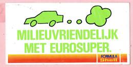Sticker - Milieuvriendelijk Met Eurosuper - Formula Shell - Autocollants