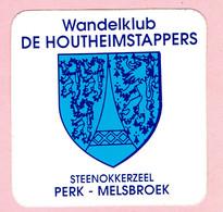 Sticker - Wandelklub DE HOUTHEIMSTAPPERS - Steenokkerzeel - PERK - MELSBROEK - Autocollants