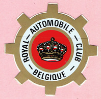 Sticker - ROYAL-AUTOMOBILE-CLUB - BELGIQUE - Autocollants