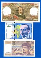 France  3  Billets  Dans  L'etat - Non Classificati