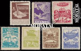 1936 España L-1/7  Motivos Diversos Asturias Leon *MH Buen Estado  (Edifil) - Asturias & Leon