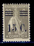 ! ! Portugal - 1928 Ceres W/OVP 15 C - Af. 461 - MH - 1910 - ... Repubblica