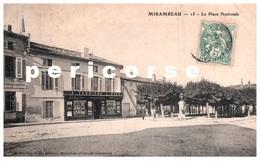 17  Mirambeau  Mercerie A.Terriere Place Nationale - Mirambeau